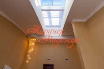 Потолочные шторы в дизайне интерьера