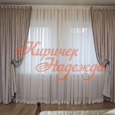 заказть пошив штор для уютной спальни