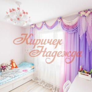 заказть пошив штор для детской комнаты