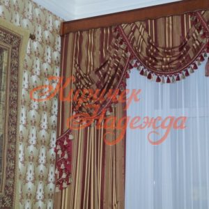 заказть пошив двухрядных штор