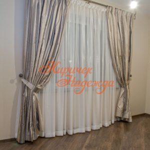 заказать пошив штор для уютной спальни