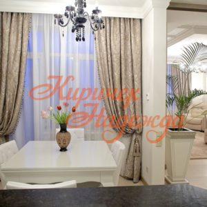 заказать пошив штор для вашей гостинной